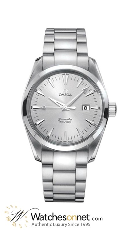 Omega Aqua Terra  Quartz Men's Watch, , Silver Dial, 2517.30.00