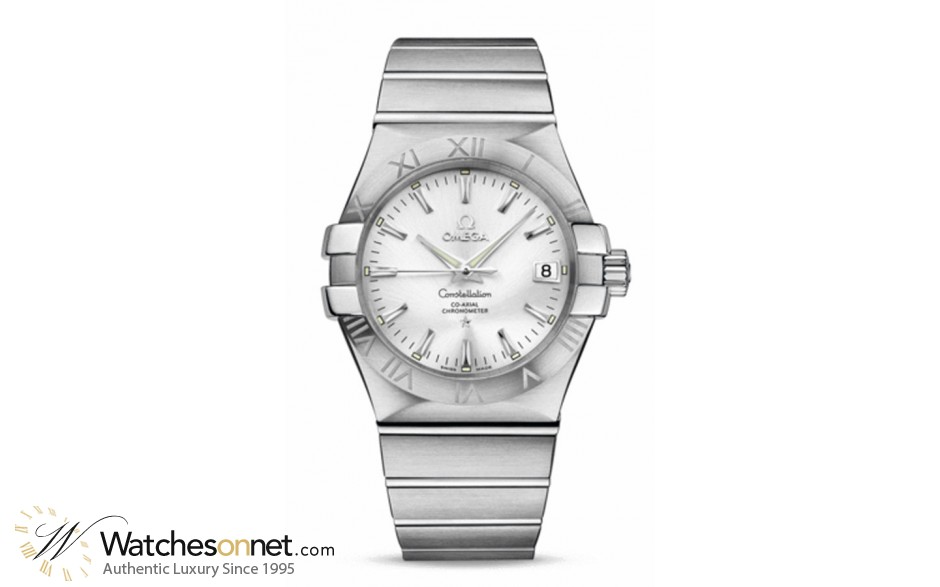 Omega Constellation  Automatic Men's Watch, Stainless Steel, Silver Dial, 123.10.35.20.02.001