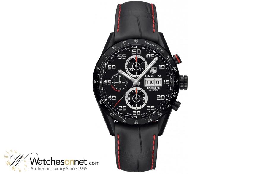 tag heuer carrera cv2a81 fc6237 men s titanium chronograph tag heuer carrera chronograph automatic men s watch titanium black dial cv2a81 fc6237