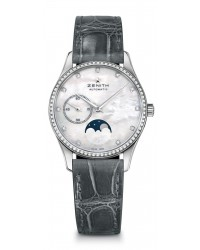 Zenith Heritage  Automatic Women's Watch, Stainless Steel, Mother Of Pearl Dial, 16.2310.692/81.C706
