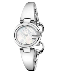 Gucci Guccissima  Quartz Women's Watch, Stainless Steel, Silver Dial, YA134504