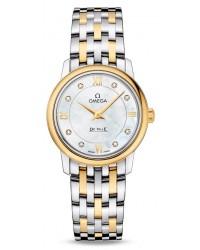 Omega De Ville  Quartz Women's Watch, Stainless Steel, Mother Of Pearl Dial, 424.20.27.60.55.001