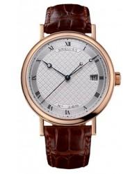Breguet Classique  Automatic Men's Watch, 18K Rose Gold, Silver Dial, 5177BR/12/9V6