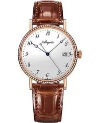 Breguet Classique  Automatic Men's Watch, 18K Rose Gold, White Dial, 5178BR/29/9V6.D000