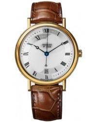 Breguet Classique  Automatic Men's Watch, 18K Yellow Gold, Silver Dial, 5197BA/15/986