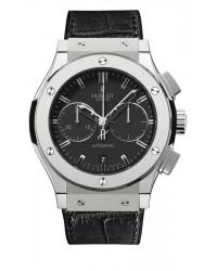 Hublot Classic Fusion 45mm  Chronograph Automatic Men's Watch, Titanium, Black Dial, 521.NX.1170.LR