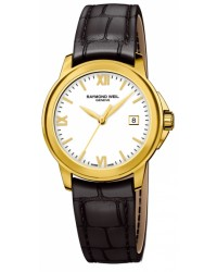 Raymond Weil Tradition  Quartz Women's Watch, Gold Tone, White Dial, 5376-P-00307