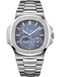 Patek Philippe Nautilus Limited Edition  Automatic With Power Reserve Men's Watch, Stainless Steel, Blue Dial, 5712-1A