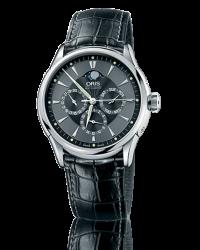 Oris Artelier  Automatic Men's Watch, Stainless Steel, Black Dial, 581-7592-4054-07-5-21-71FC