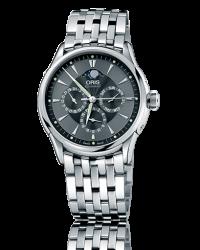 Oris Artelier  Automatic Men's Watch, Stainless Steel, Black Dial, 581-7592-4054-07-8-21-73