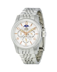 Oris   Automatic Men's Watch, Stainless Steel, Silver Dial, 581-7627-4061-07-8-20-76