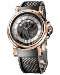 Breguet Marine  Automatic Men's Watch, 18K Rose Gold, Black Dial, 5817BR/Z2/5V8