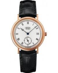 Breguet Classique  Automatic Men's Watch, 18K Rose Gold, Silver Dial, 5920BR/15/984