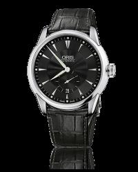 Oris Artelier  Automatic Men's Watch, Stainless Steel, Black Dial, 623-7582-4074-07-5-21-71FC