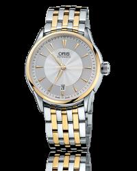 Oris Artelier  Automatic Men's Watch, Stainless Steel, Silver Dial, 733-7591-4351-07-8-21-74