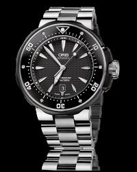 Oris Pro Diver  Automatic XL Men's Watch, Titanium, Black Dial, 733-7646-7154-07-8-26-71PEB