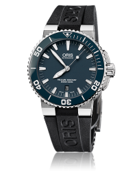 Oris Aquis  Automatic Men's Watch, Stainless Steel, Blue Dial, 733-7653-4155-07-4-26-34EB