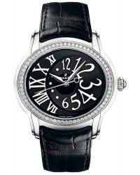 Audemars Piguet Millenary  Automatic Women's Watch, Stainless Steel, Black Dial, 77301ST.ZZ.D002CR.01