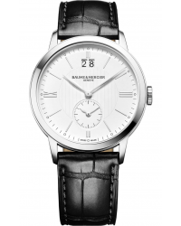 Baume & Mercier Classima  Automatic Men's Watch, Stainless Steel, Silver Dial, MOA10218