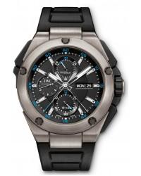 IWC Ingenieur  Chronograph Automatic Men's Watch, Titanium, Black Dial, IW386503