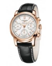 Longines Saint Imier  Automatic Men's Watch, 18K Rose Gold, Silver Dial, L2.752.8.72.3