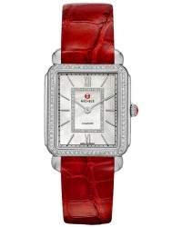 Michele Deco II  Quartz Women's Watch, Stainless Steel, Mother Of Pearl & Diamonds Dial, MWW06X000003