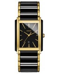 Rado Integral  Quartz Unisex Watch, Ceramic, Black Dial, R20968152