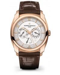 Vacheron Constantin Quai de L'lle  Automatic Men's Watch, 18K Rose Gold, Silver Dial, 85050/000R-I0P29
