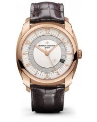 Vacheron Constantin Quai de L'lle  Automatic Men's Watch, 18K Rose Gold, Silver Dial, 86050/000R-I0P29