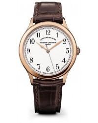 Vacheron Constantin Historiques  Automatic Men's Watch, 18K Rose Gold, White Dial, 86122/000R-9362