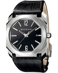 Bvlgari Bvlgari Bvlgari  Automatic Women's Watch, 18K Rose Gold, White Mother Of Pearl Dial, BGO41BSLD