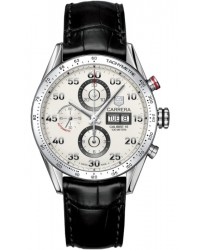 Tag Heuer Carrera  Chronograph Automatic Men's Watch, Stainless Steel, Silver Dial, CV2A11.FC6235