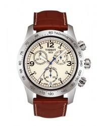 Tissot V8  Chronograph Quartz Men's Watch, Stainless Steel, White Dial, T36.1.316.72