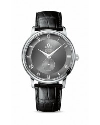 Omega De Ville  Automatic Men's Watch, Stainless Steel, Grey Dial, 4813.40.01