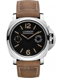 Panerai Luminor Marina  Automatic Men's Watch, Stainless Steel, Black Dial, PAM00590
