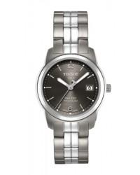 Tissot PR100  Quartz Women's Watch, Titanium, Anthracite Dial, T049.310.44.067.00