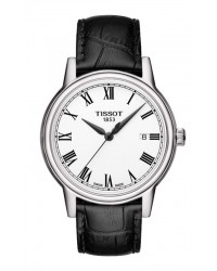 Tissot Carson  Quartz Men's Watch, Stainless Steel, White Dial, T085.410.16.013.00