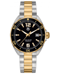 Tag Heuer Formula 1  Quartz Men's Watch, Steel & Yellow Gold Plated, Blue Dial, WAZ1121.BB0879