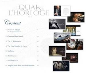 Breguet's first edition of Le Quai De L'Horloge