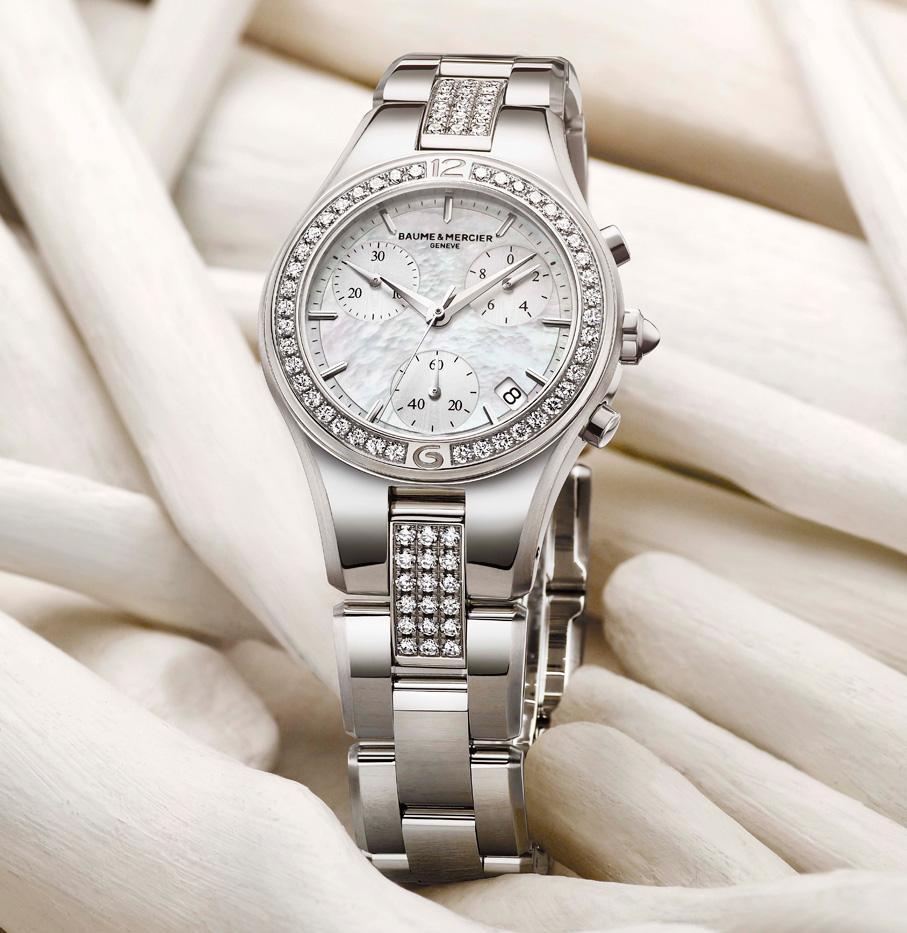 The Linea 10017 Watch by Baume & Mercier