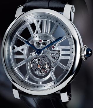 Cartier Flying Tourbillion Watch