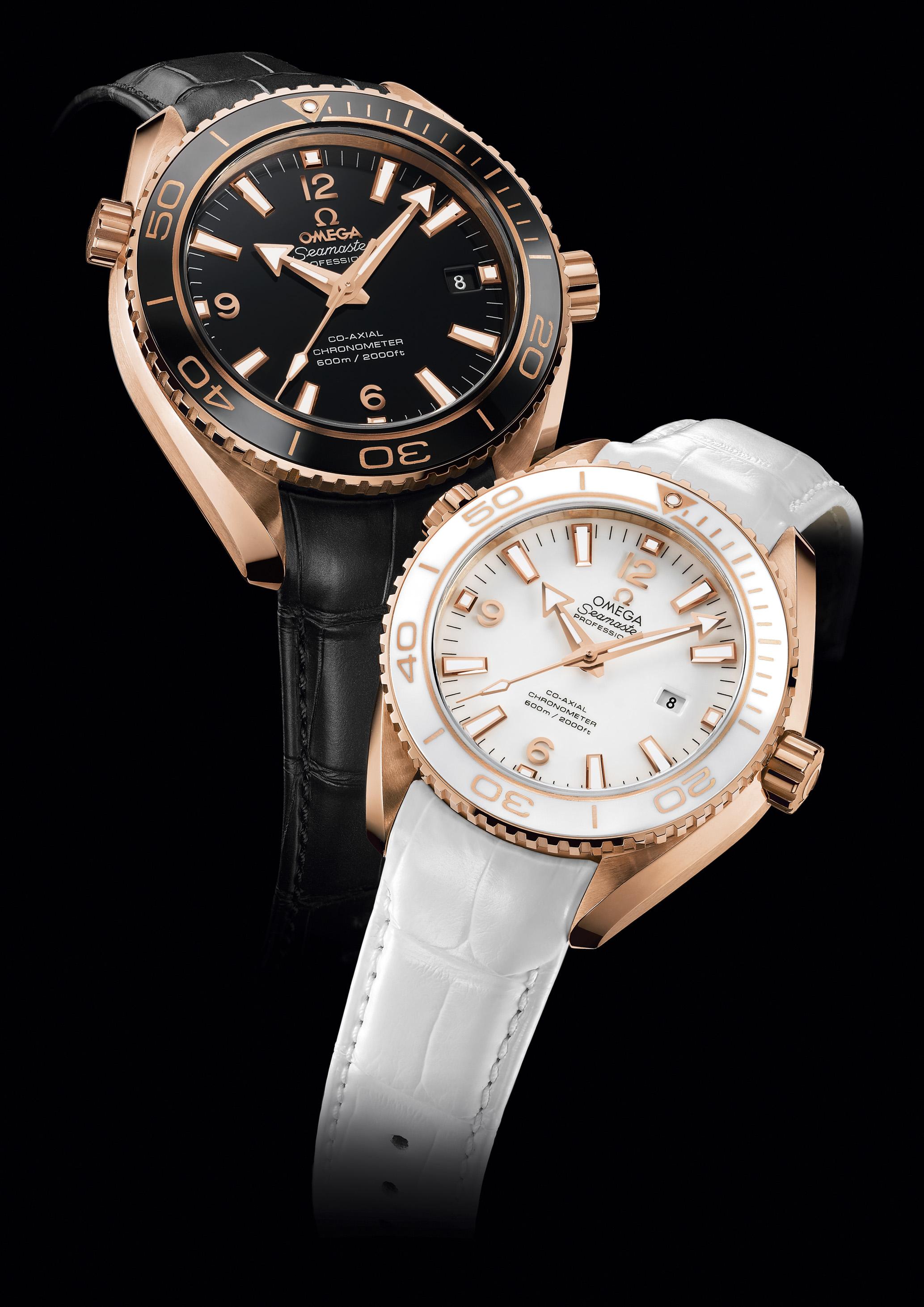 Omega Seamaster Ladies Gold