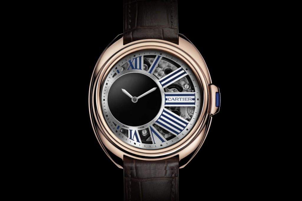 Brand New! Cartier Clé de Cartier Mysterious Hours Pink Gold WHCL0002