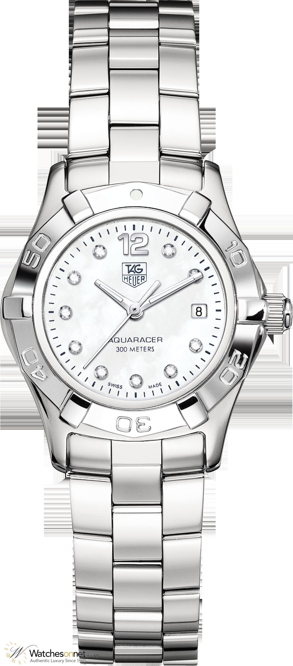 2e8aa9a5038 Tag Heuer Aquaracer WAF1415.BA0824 Women s Stainless Steel Quartz Watch