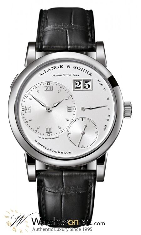 A. Lange & Sohne Lange 1  Manual Winding Men's Watch, 18K White Gold, Silver Dial, 101.039