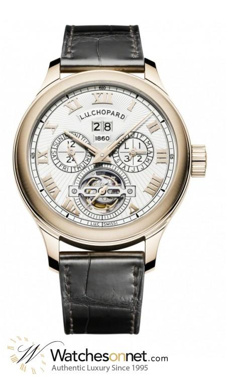 Chopard L.U.C  Automatic Men's Watch, 18K Rose Gold, Silver Dial, 161925-5001