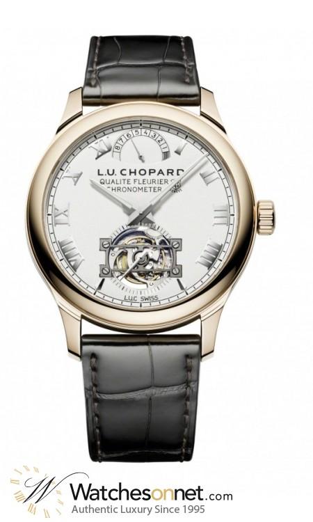 Chopard L.U.C  Automatic Men's Watch, 18K Rose Gold, Silver Dial, 161929-5001