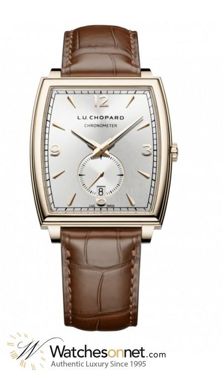 Chopard L.U.C  Automatic Men's Watch, 18K Rose Gold, Silver Dial, 162294-5001