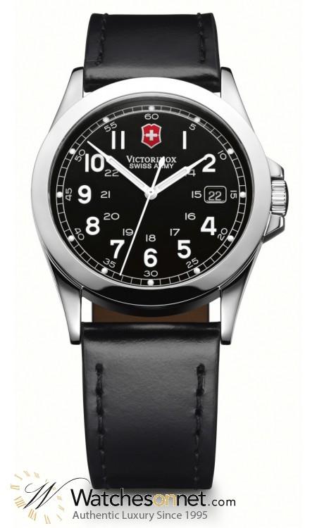 Victorinox Swiss Army Infantry  Quartz Men's Watch, Stainless Steel, Black Dial, 24653