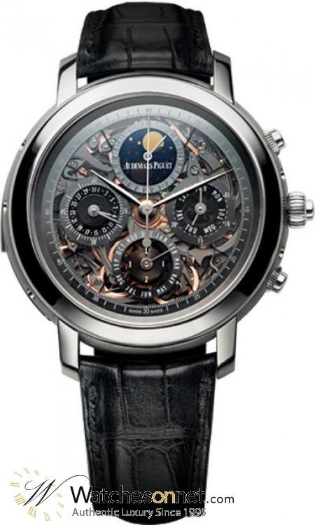 Audemars Piguet Jules Audemars  Automatic Men's Watch, Titanium, Skeleton Dial, 25996TI.OO.D002CR.02